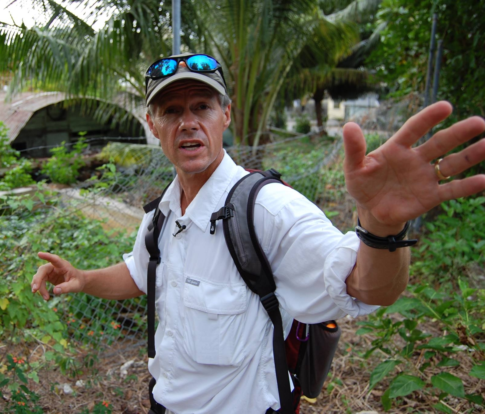 Journalist Clay Evans