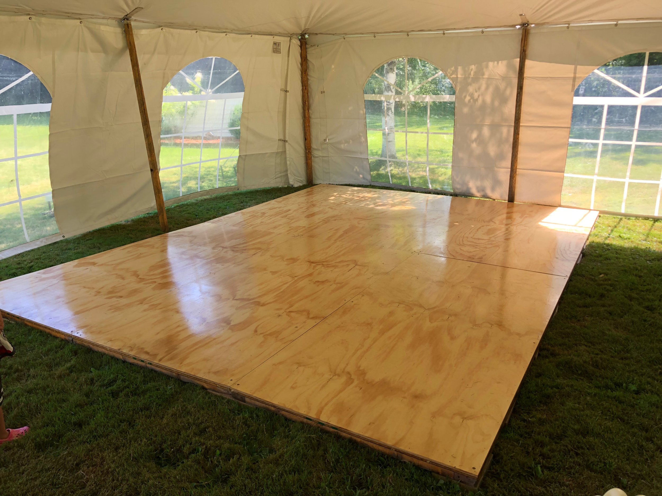 Basic Wooden Dance Floor