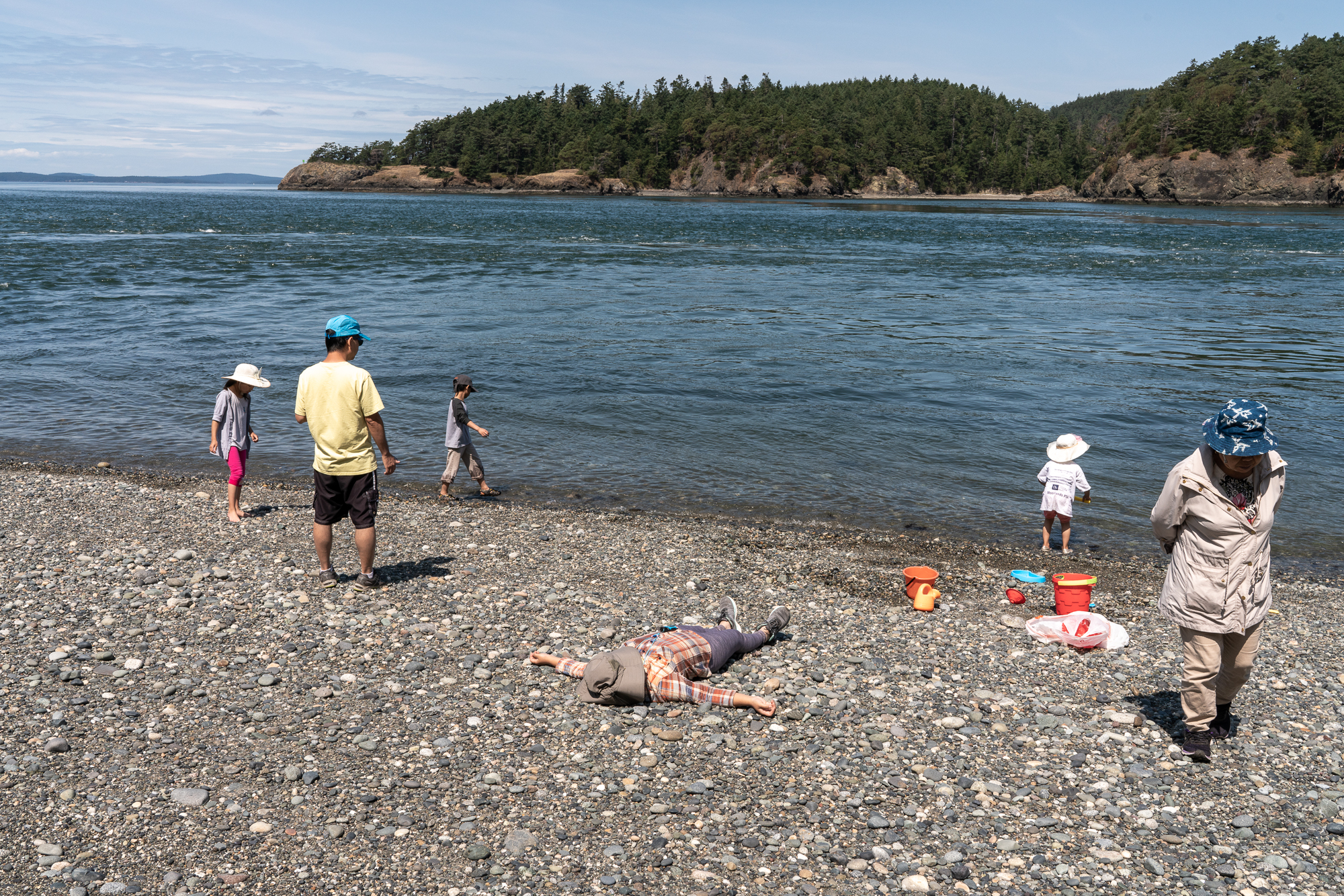 The Incident at Deception Pass.