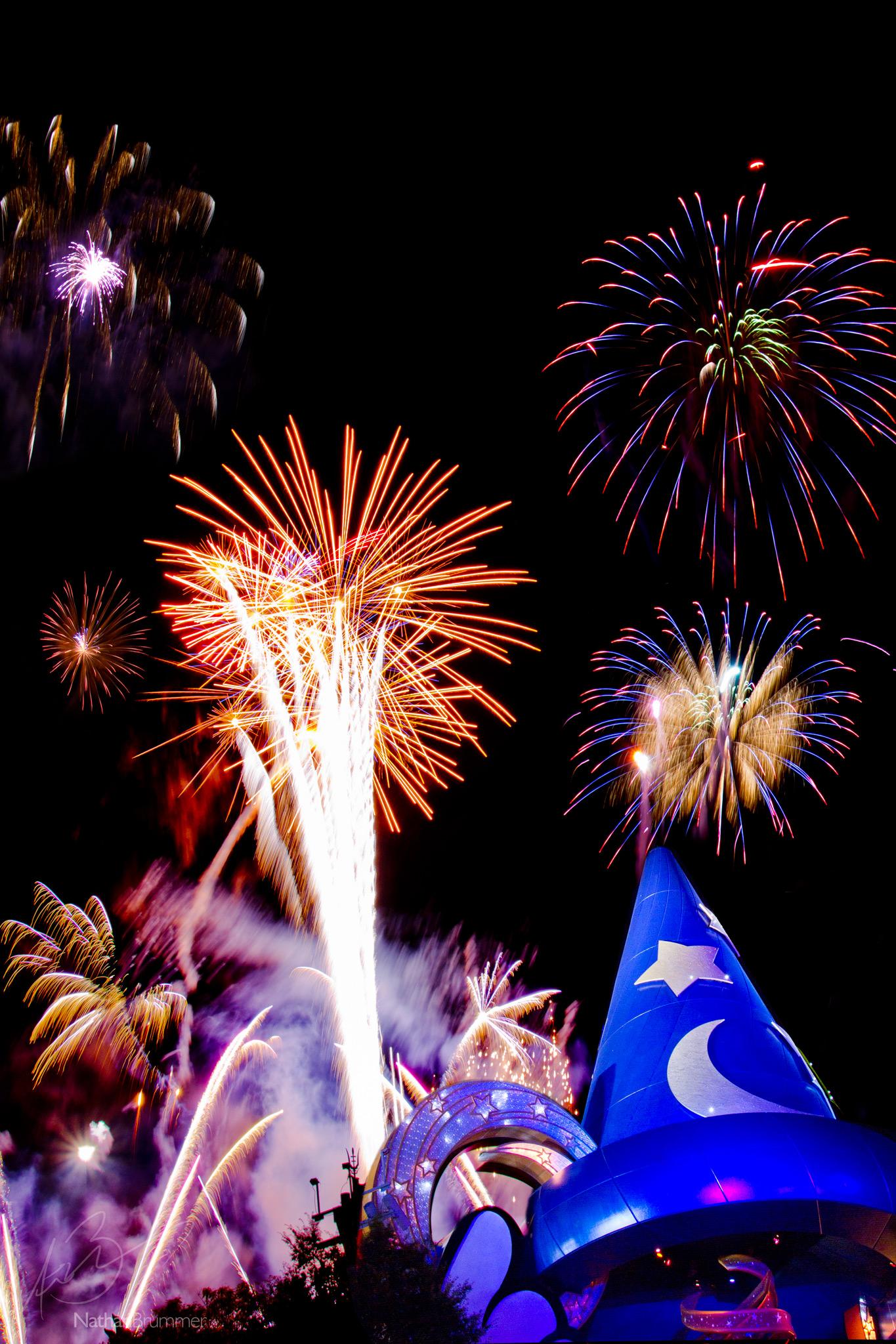 Phoenix Photographer Nathan Brummer Photography Disney Fireworks