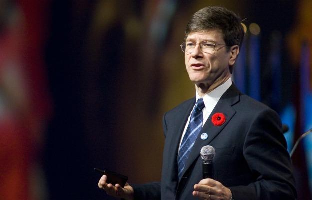 Columbia University professor and Earth Institute Director Jeffery Sachs