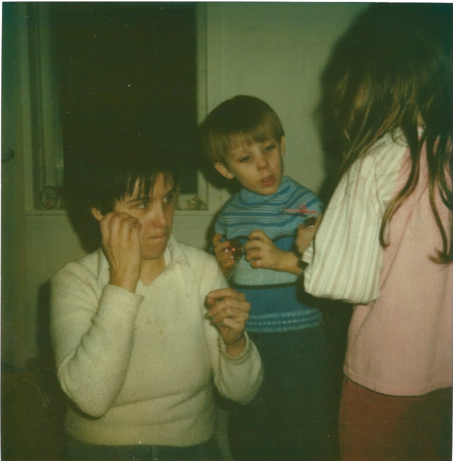 Mom and I, 1982.