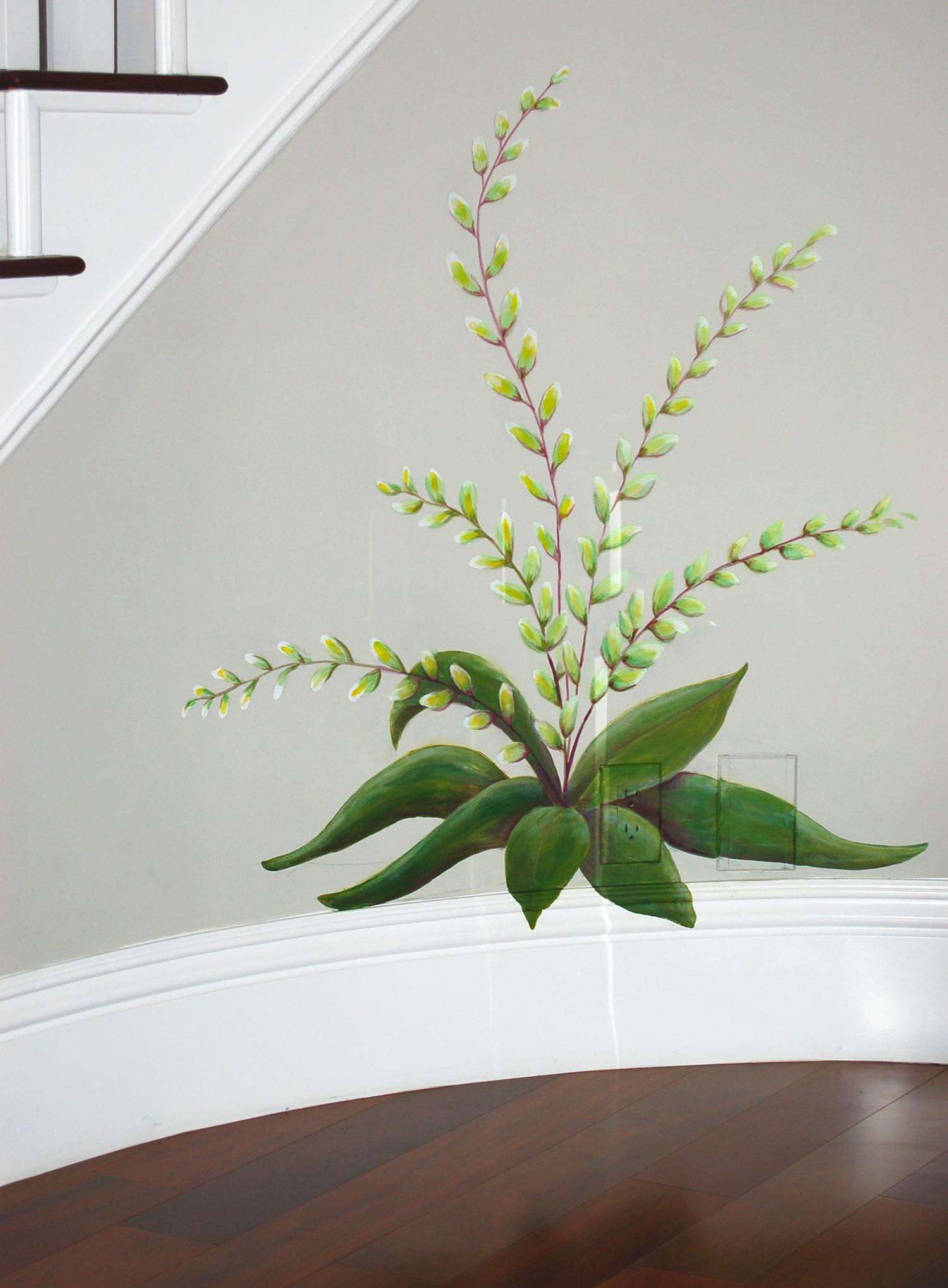 Hallway decorative painting