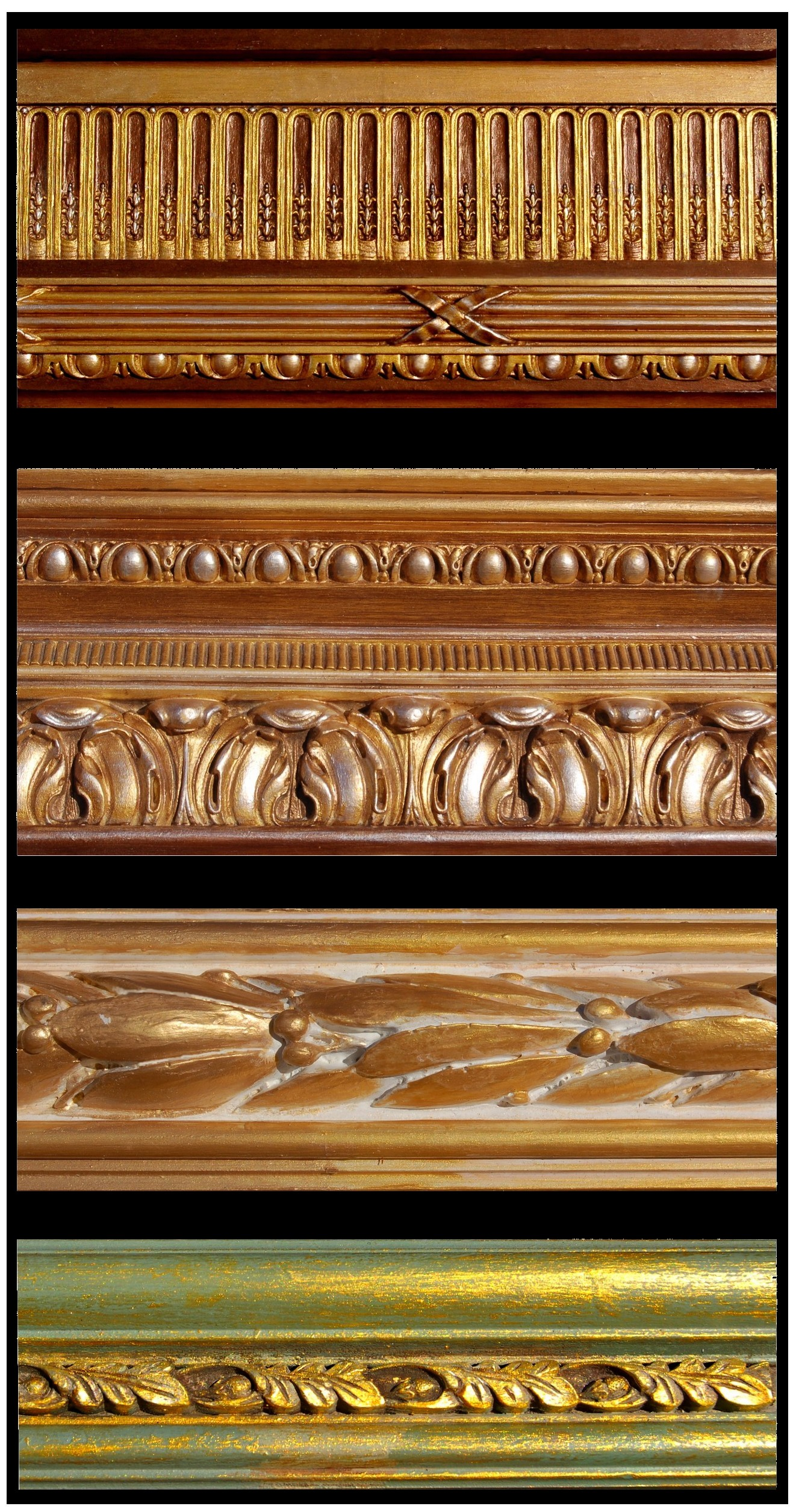 Molding and trim treatments