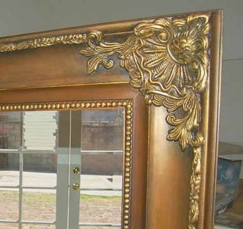 mirror frame.
