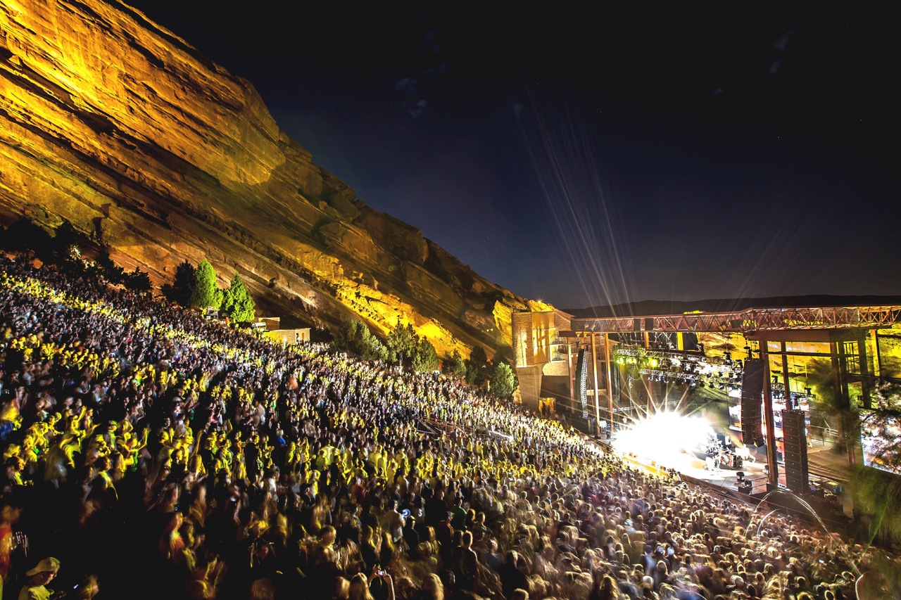 Red Rocks Amphitheatre - Colorado