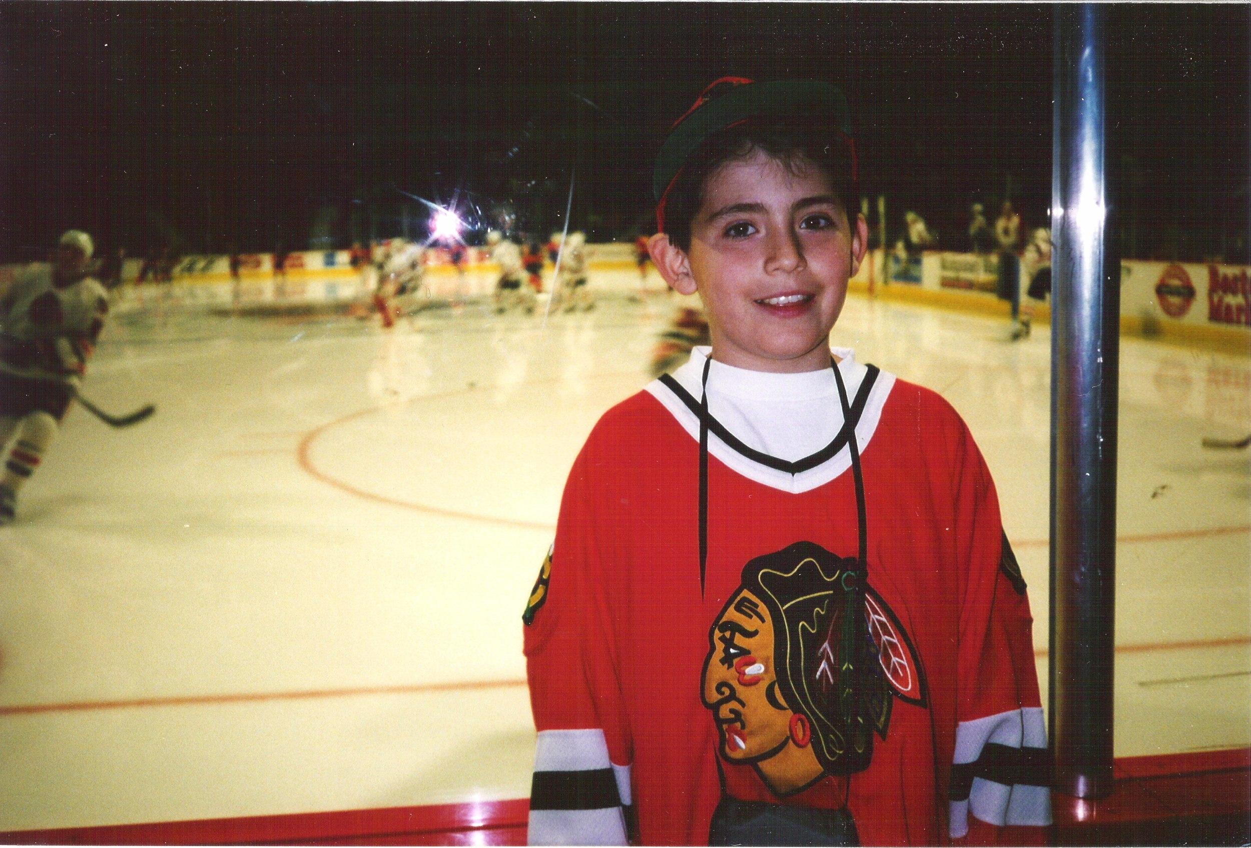 Young Chris Hawks