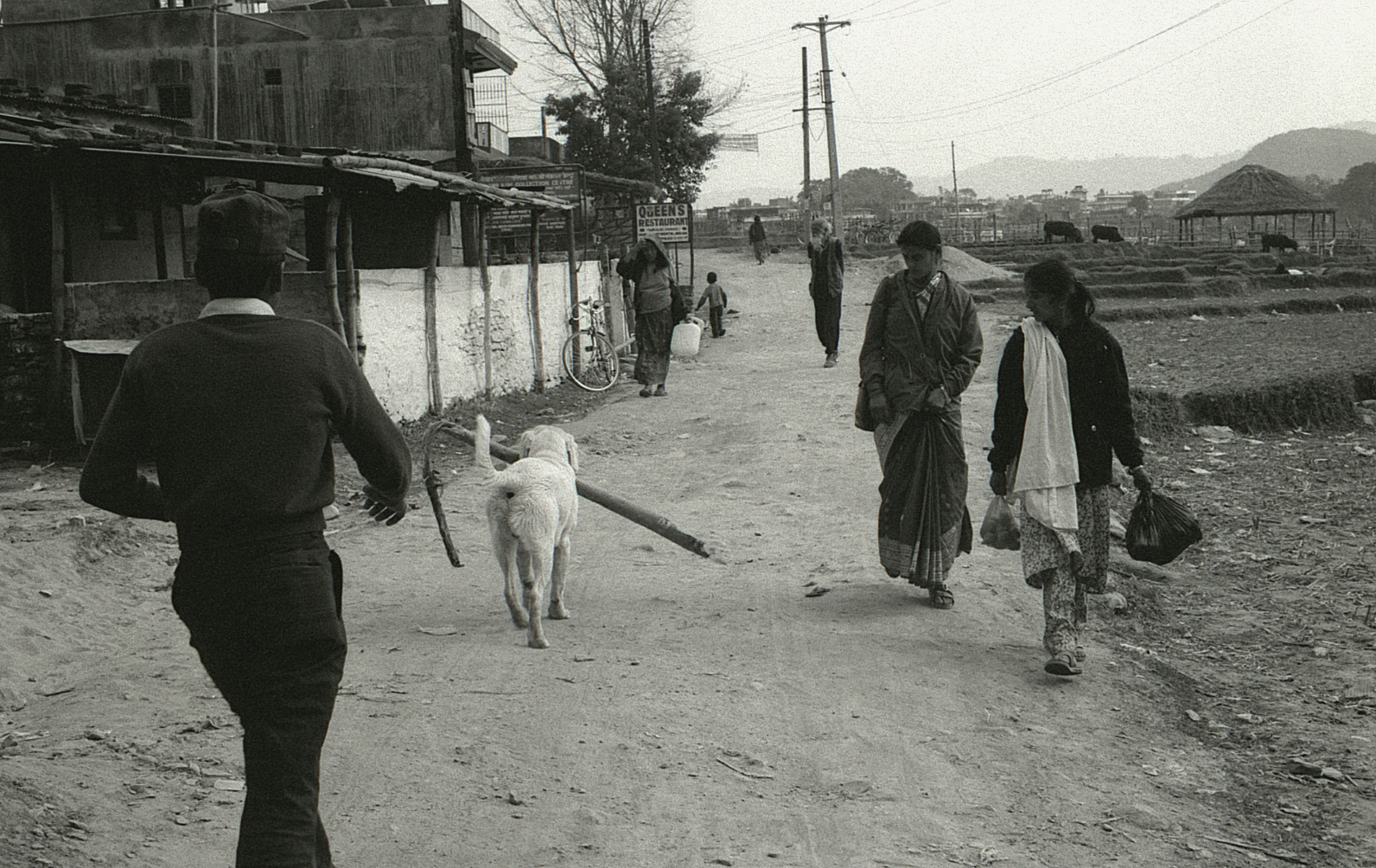 Pokhara, Nepal, where Orville became famous for his stick swimming.