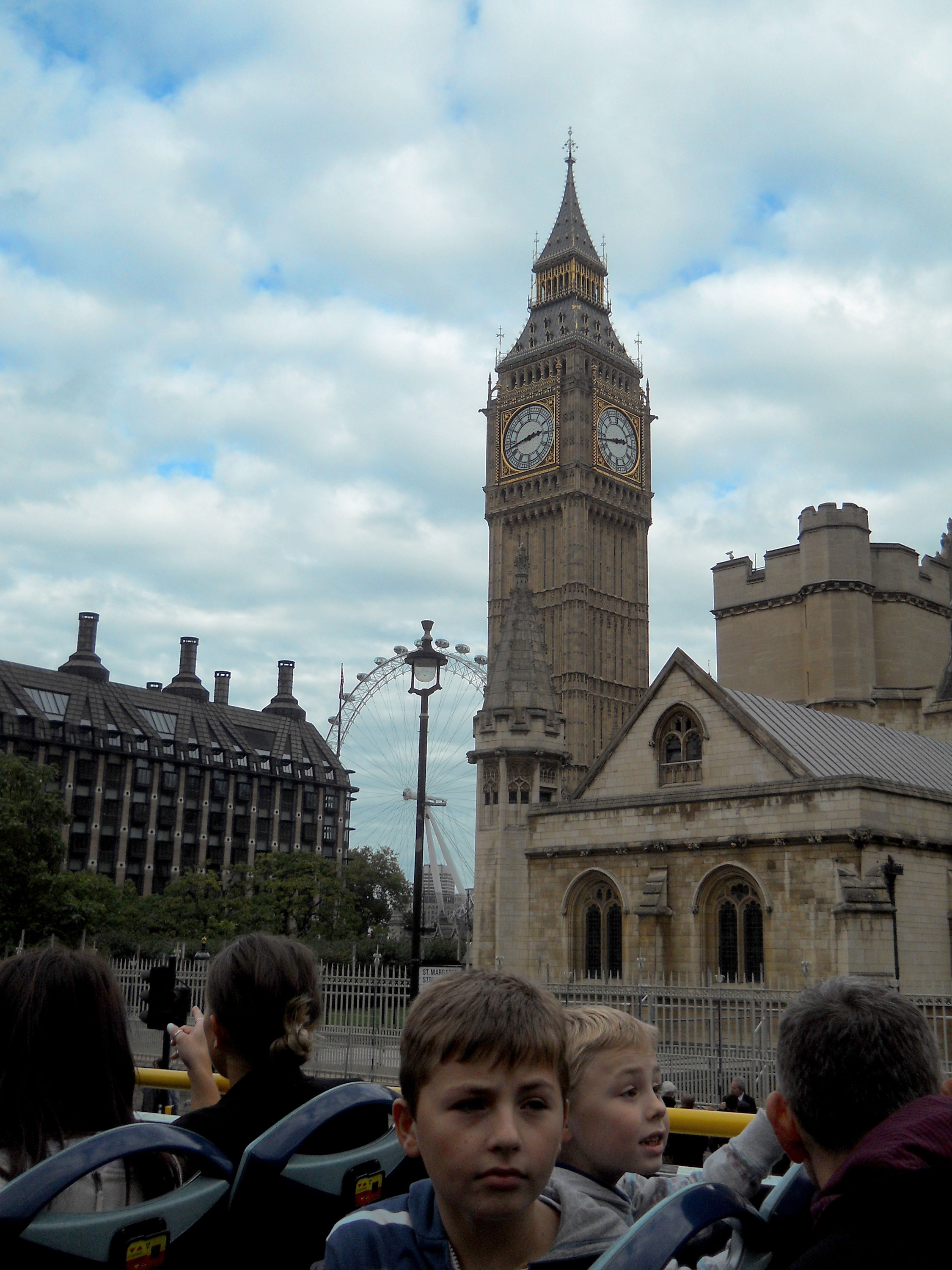 Big Ben From the Bus