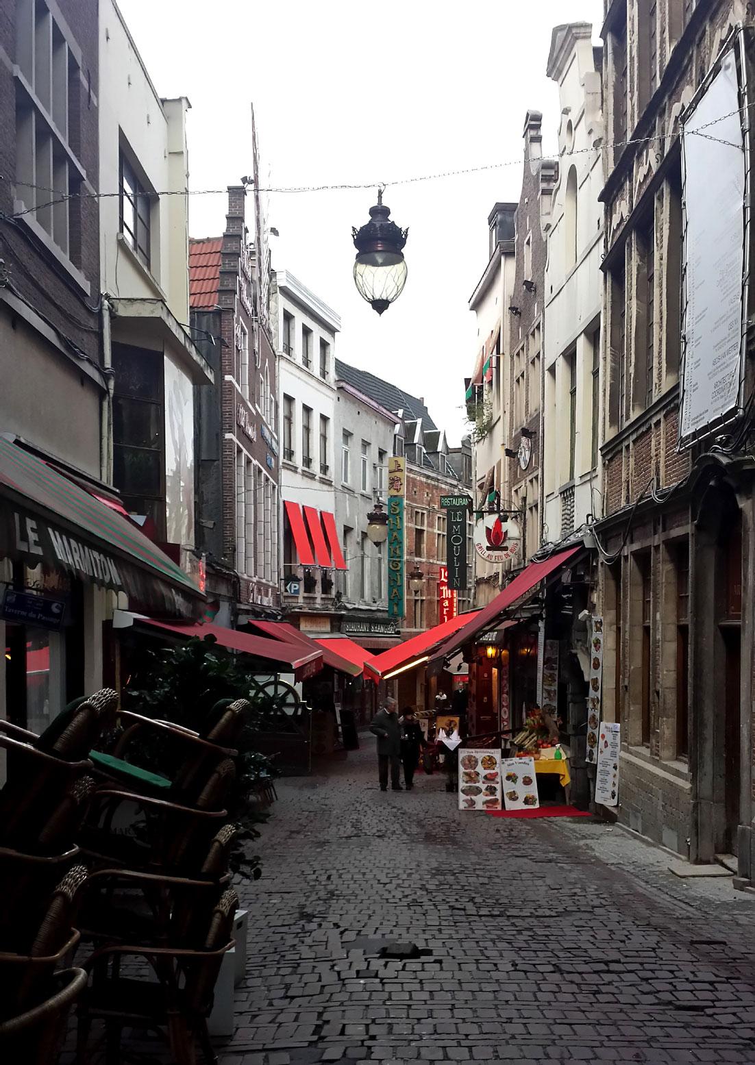 Brussels' side streets