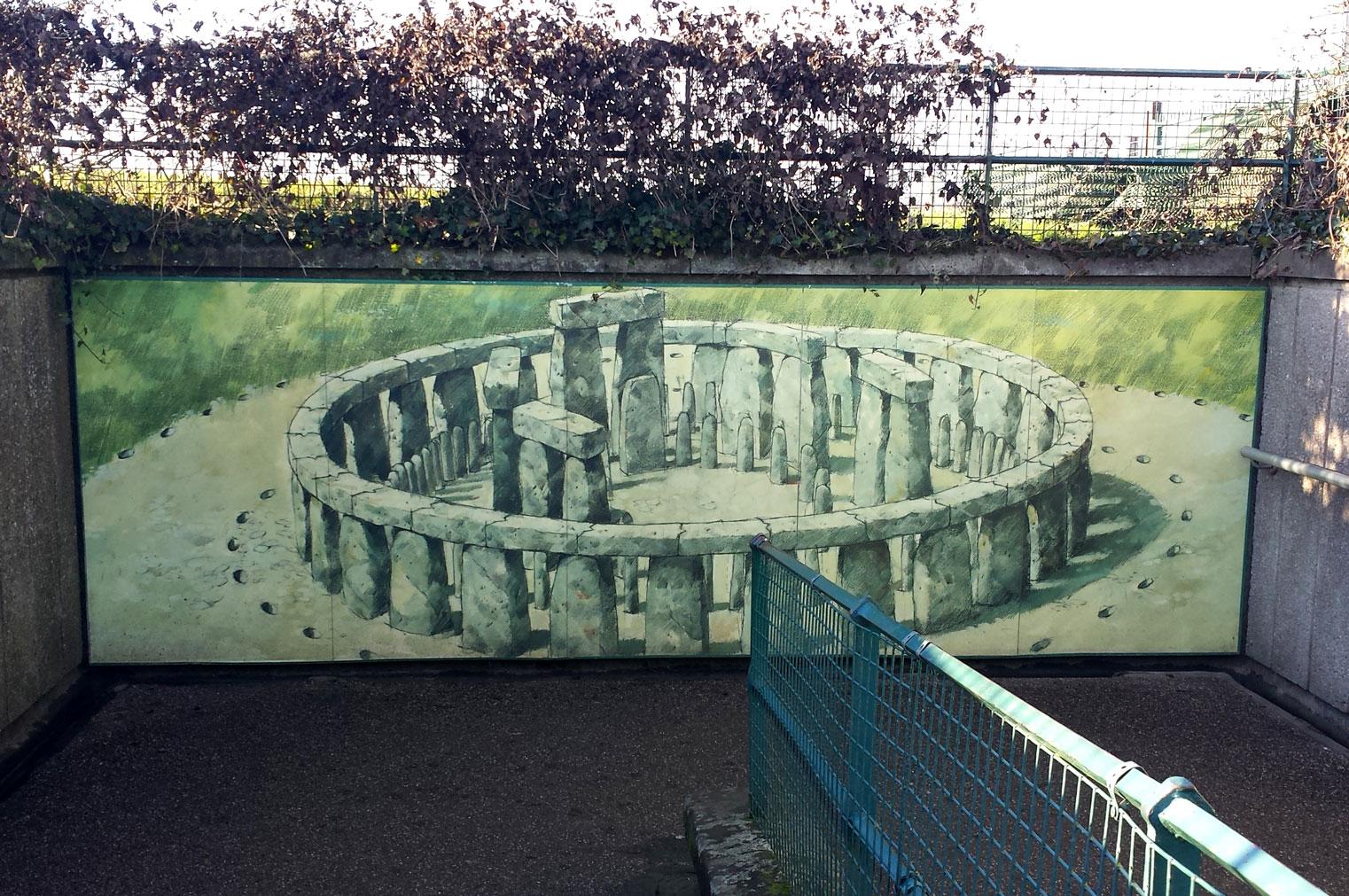How Stonehenge looked in it's Heyday.