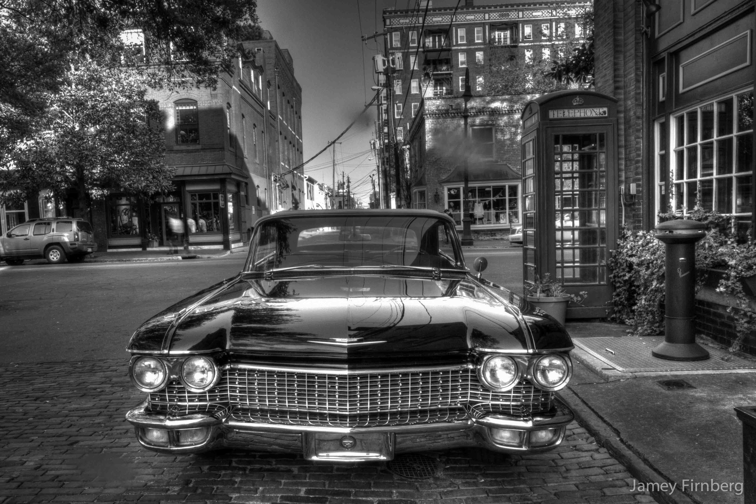 I found the Batmobile in Savannah.