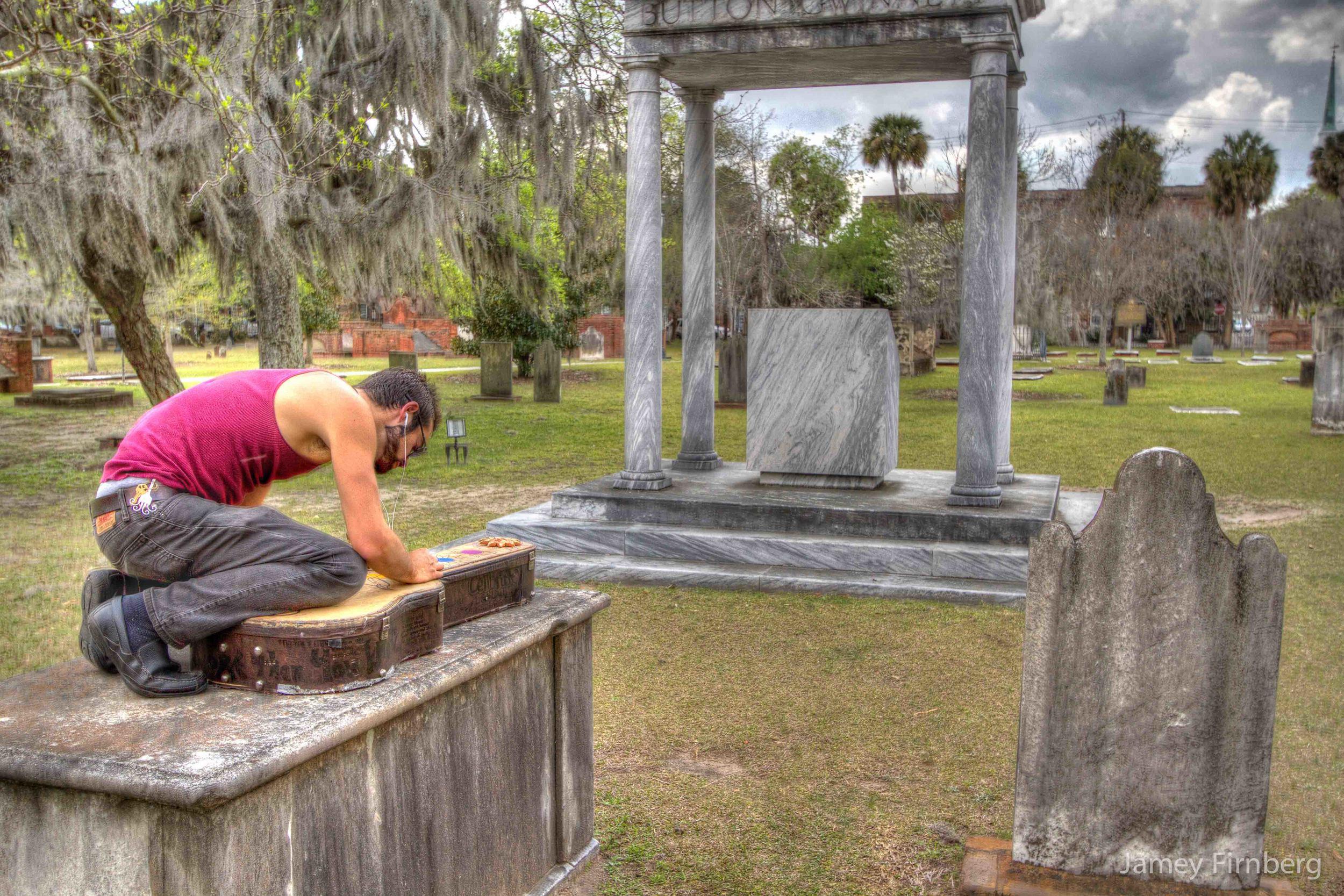 Tom Pikul in Savannah.