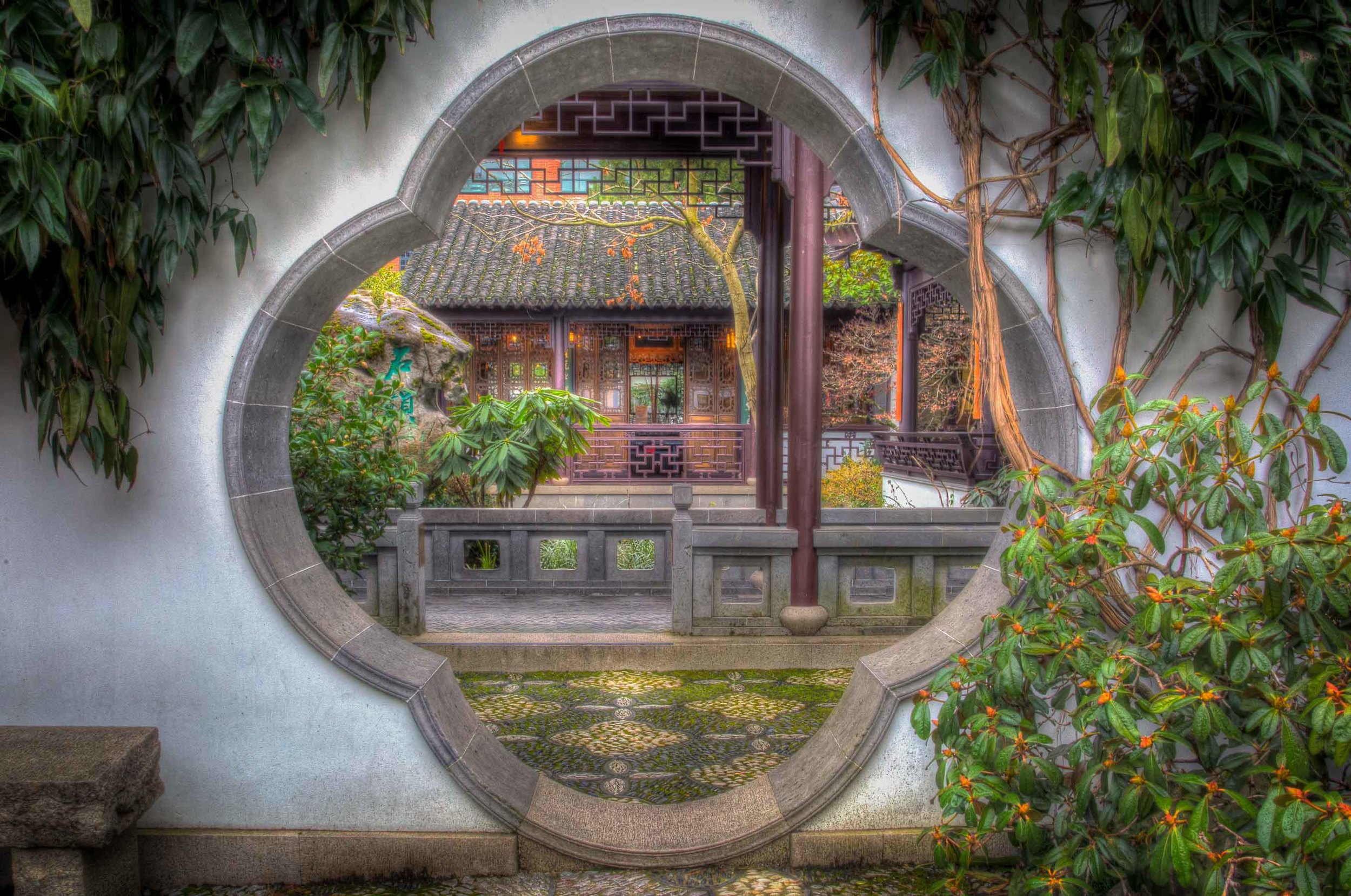 Click to view (5 in Gallery)   Lan Su Chinese Garden in Portland, OR