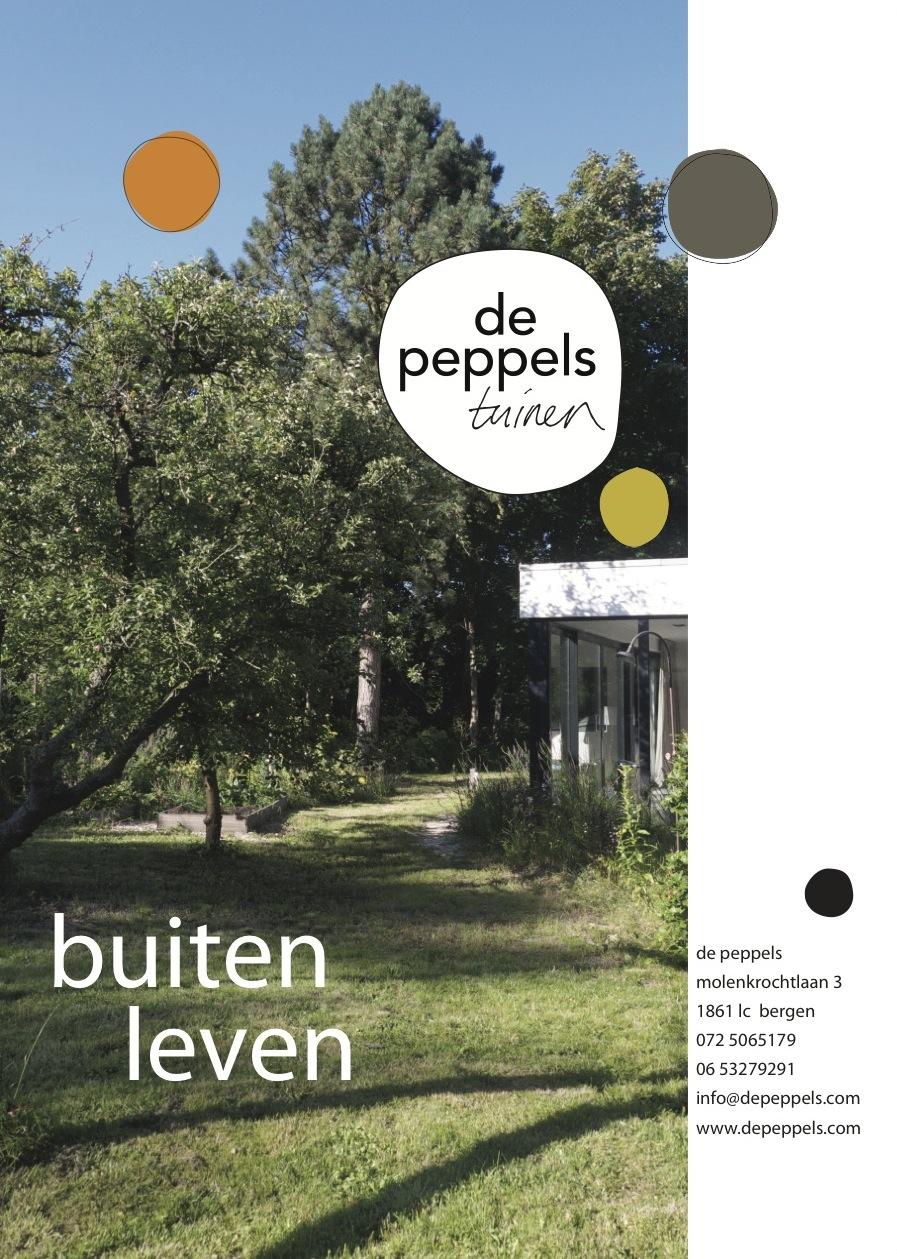 De Peppels onderscheid zich van andere tuinontwerpers, tuinarchitecten en tuinontwerpbureasu door een heldere ontwerpstijl, gecombineerd met natuurlijke materialen.