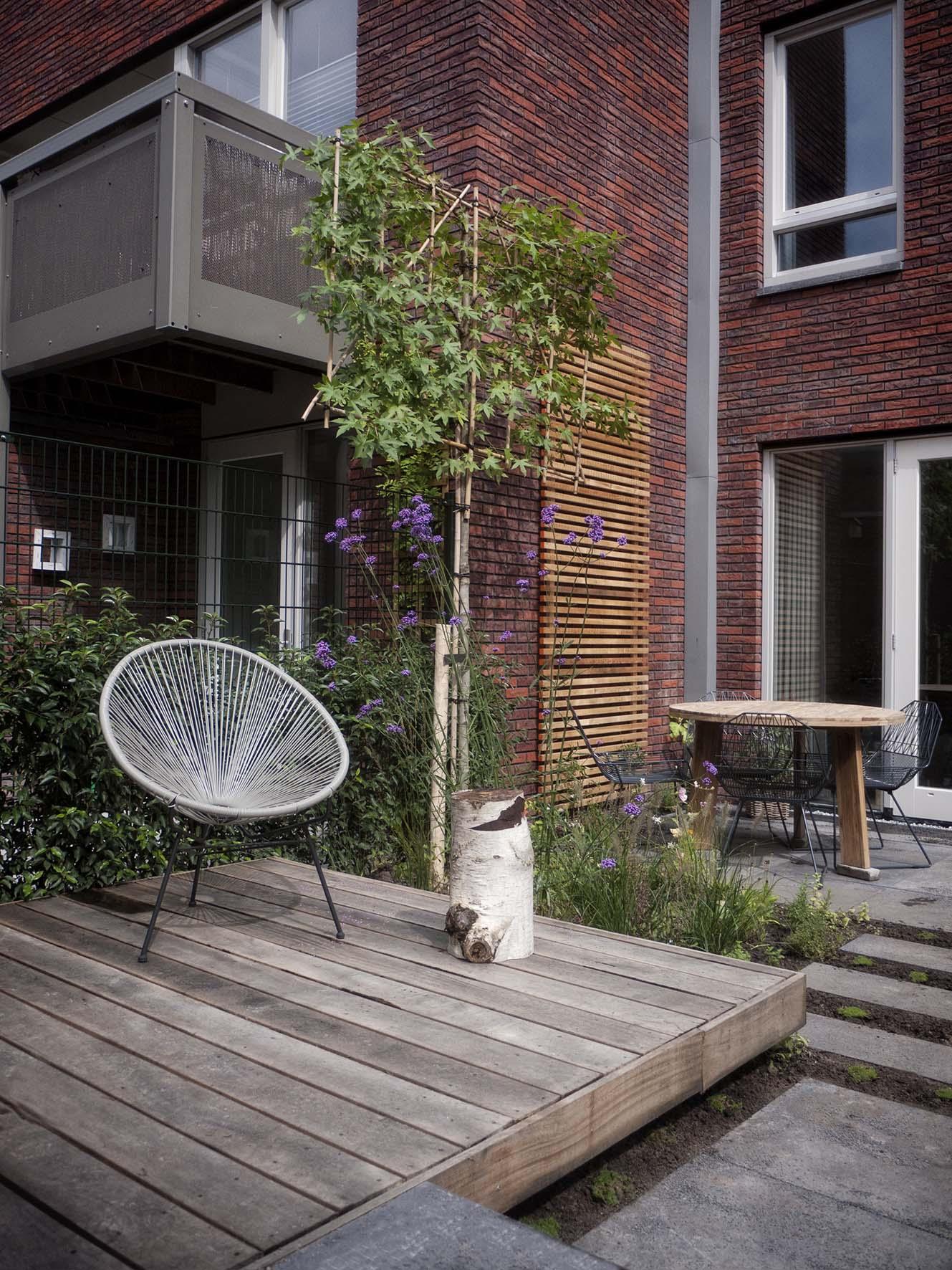 Tuinontwerp stadstuin Haarlem