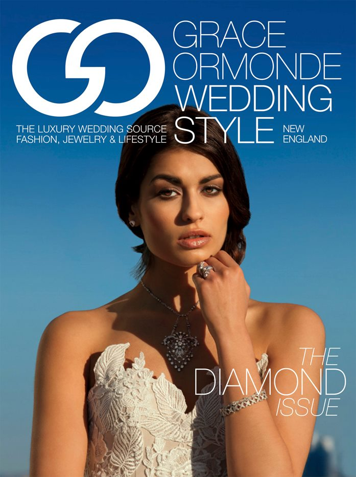 Swan Rings Featured on Cover of Wedding Style Magazine shot by Peter Ruprecht