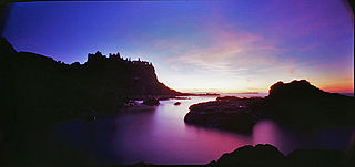 An example of a 20 minute exposure taken with a pinhole camera. Courtesy Wikipedia