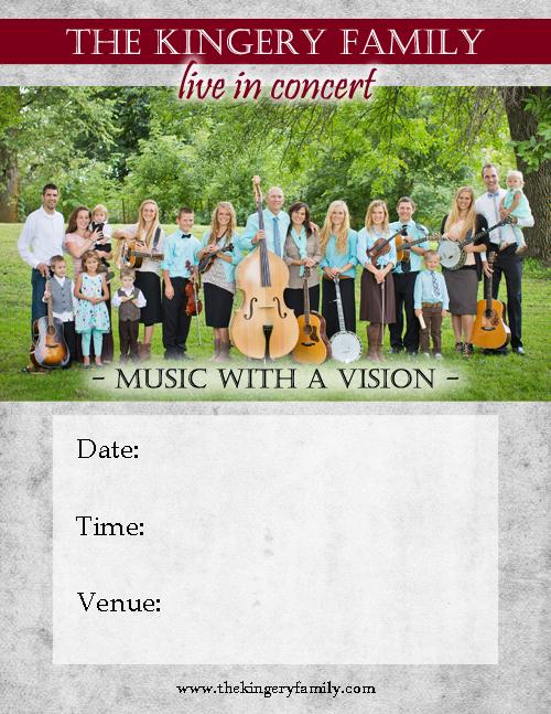 The Kingery Family - Poster