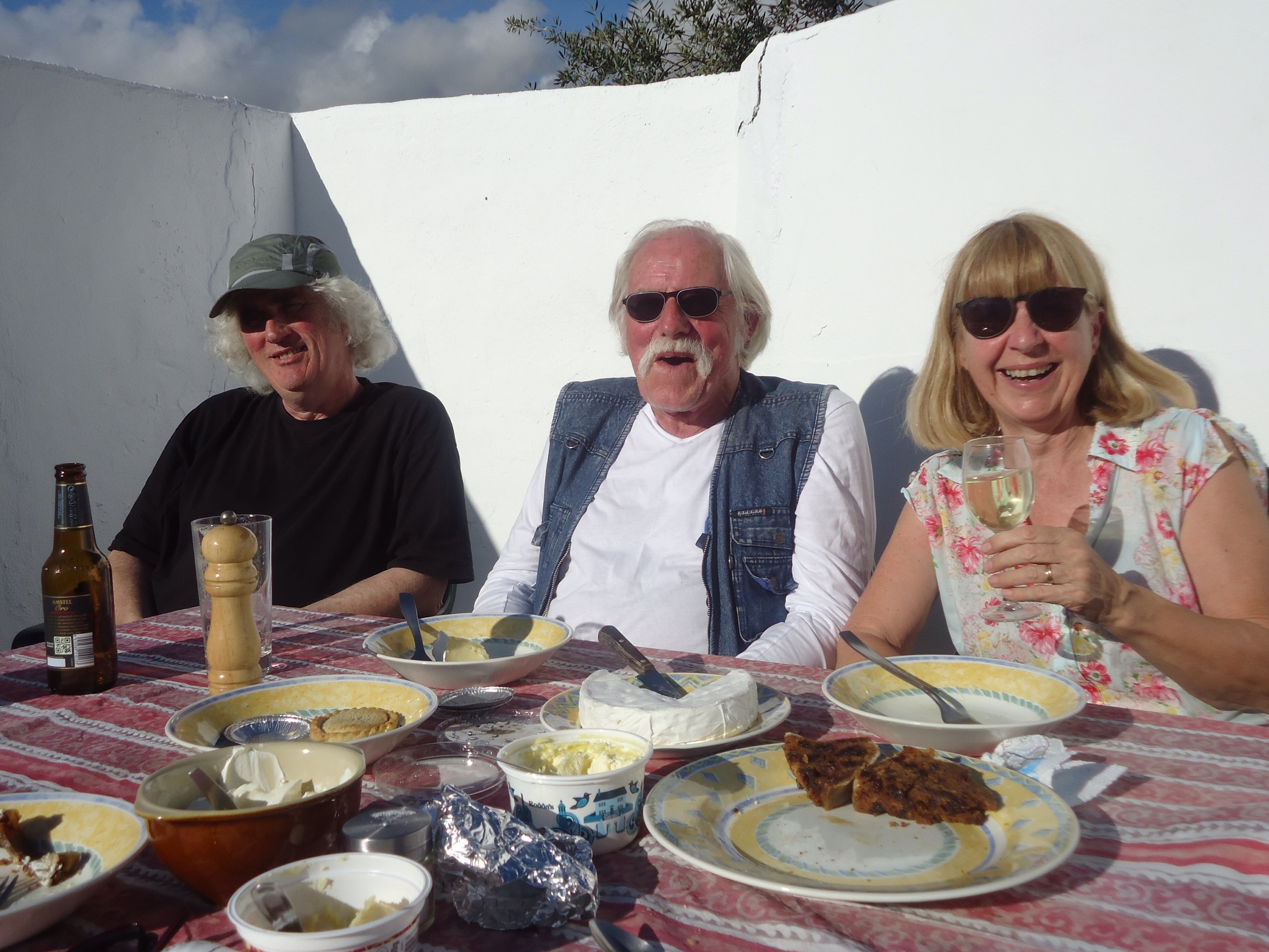 Dick with Anne and David R.
