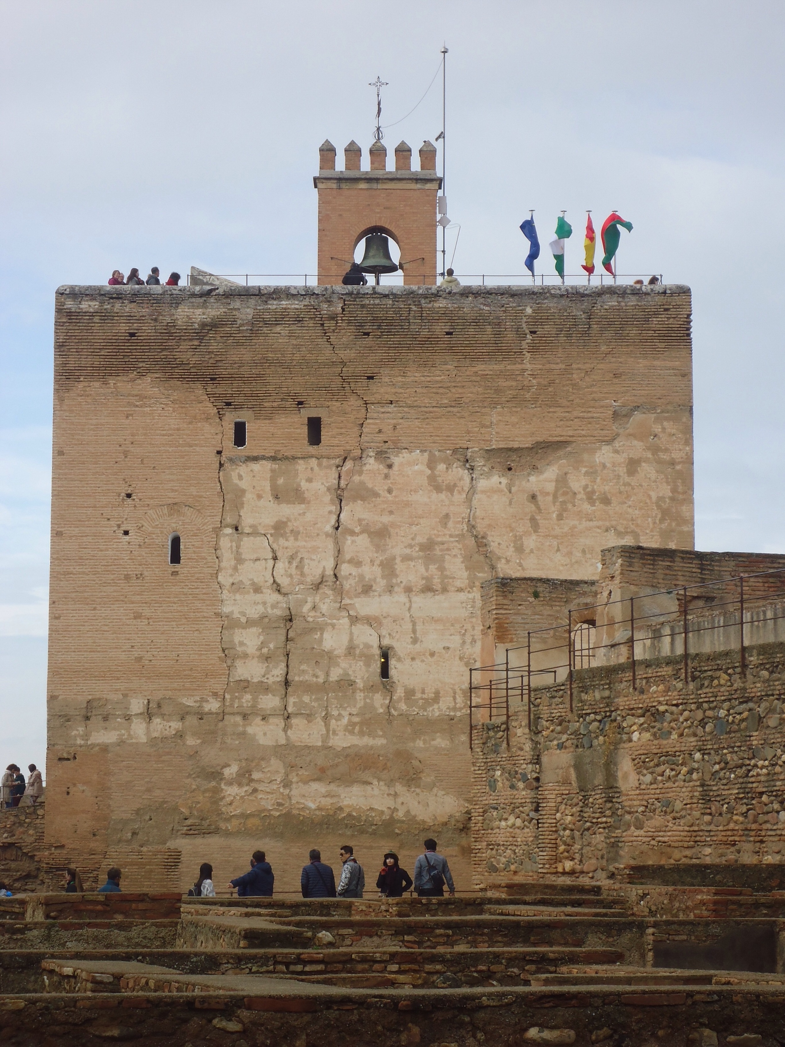 The imposing structure of the fort!