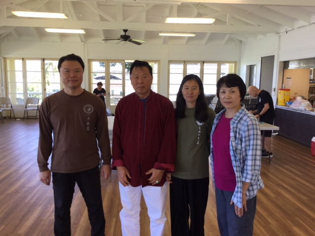 with Master Alex, Master Dong zeng chen and his wife