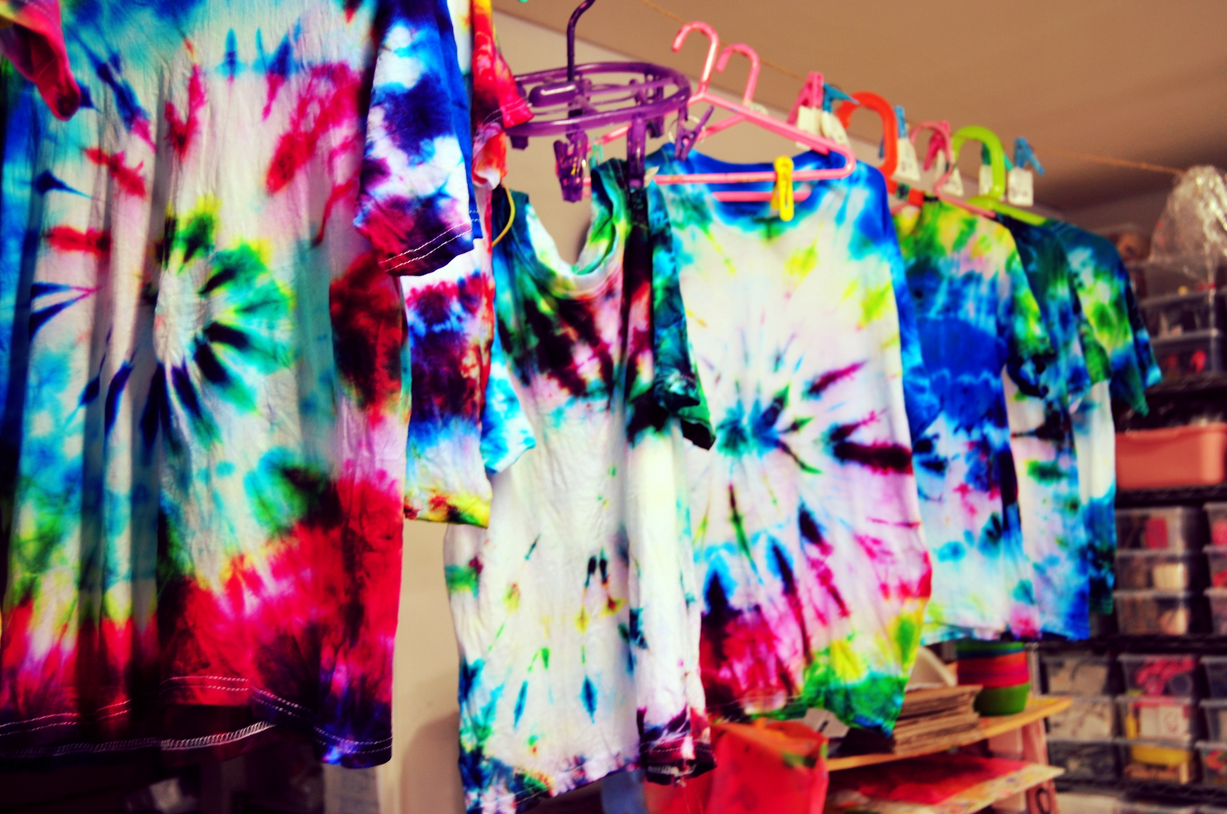 Tie-Dyed T-shirts  FABRIC STUDIO