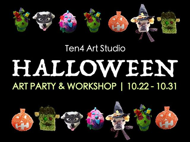 Happy Halloween 👻🎃💀 Thank you all for coming to the Halloween party! We're so happy everyone showed up, even in the rain.  Today we are offering face painting at the studio. Call or email directly to reserve a spot or just drop in! Check link in bio.  雨の中、みなさんパーティーにご参加いただきありがとうございます👯 本日はハロウィン本番なのでアトリエでフェイスペインティングをして街に出かけましょう!お友達と一緒にでもOK、大人ももちろん大歓迎。午後2時頃〜夕方頃まで開催予定なのでお気軽にお問い合わせください。一応予約制ですが、時間が空けばできるのでぜひ立ち寄ってみてください😊