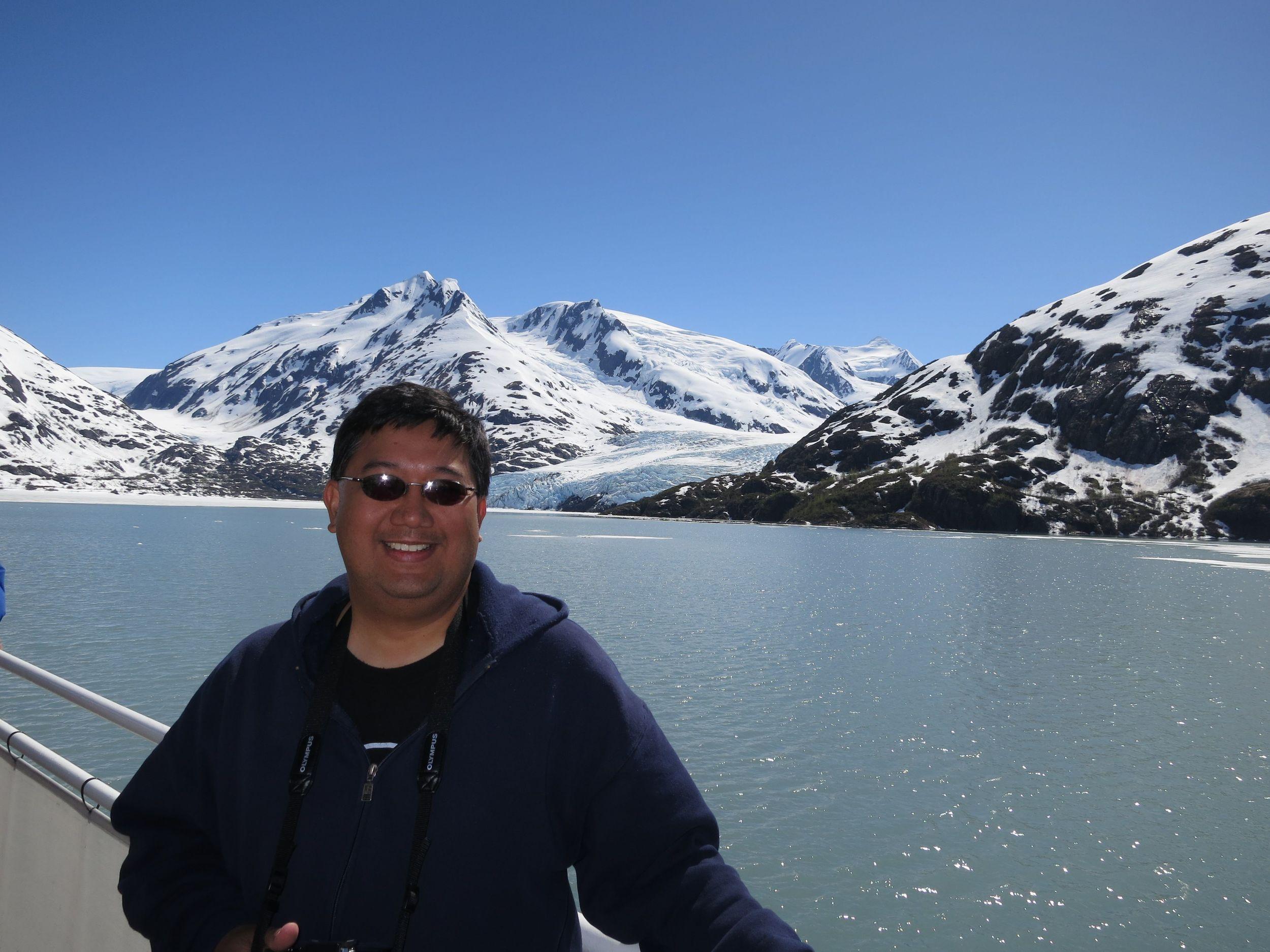 Portage Glacier  between Anchorage and Seward
