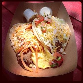 Fancy tacos.