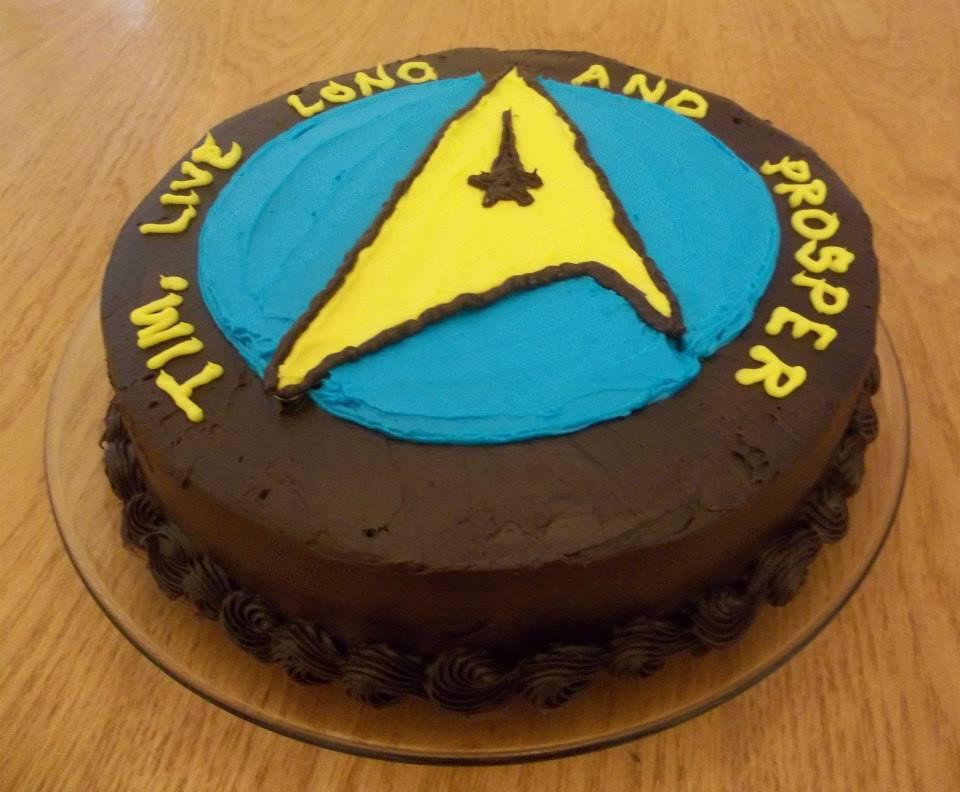 star trek cake