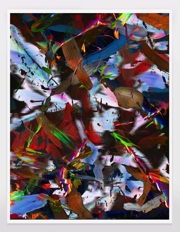 chris fernald pop effigy II painting 2015