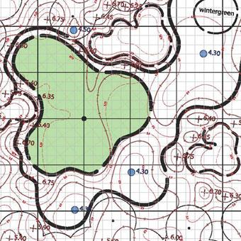 Green detail plan