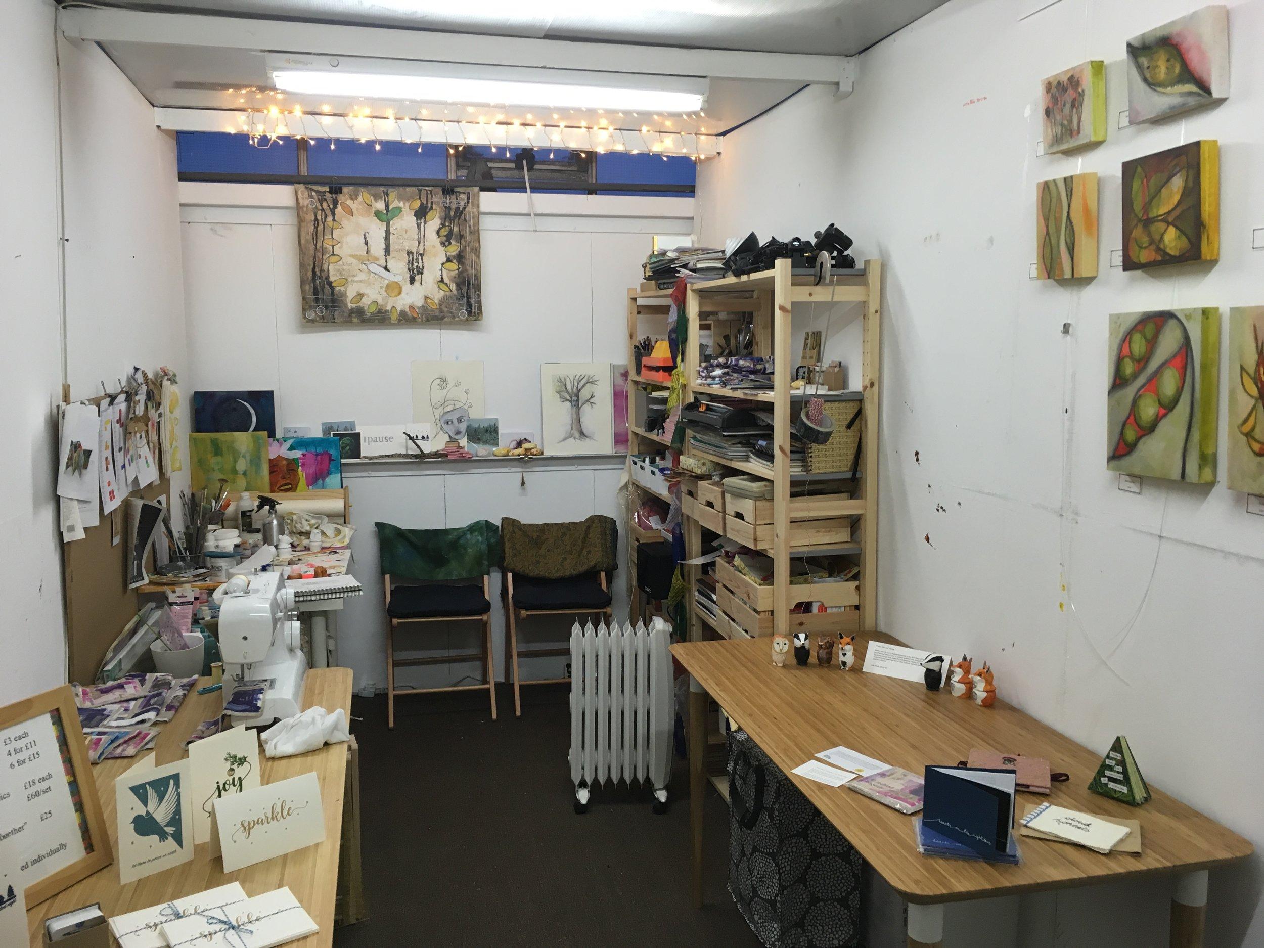 The whole studio