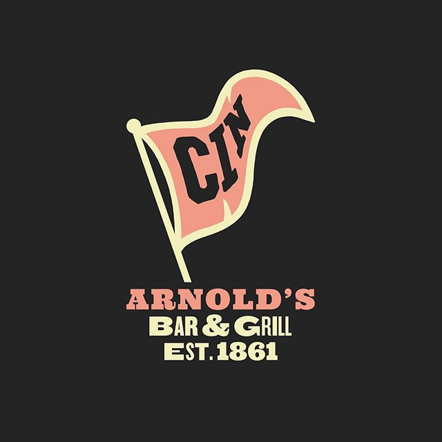 Garlic Fest at legendary Arnold's Bar & Grill...Oh Yes!!!! Get some prints and tees this weekend, and did we say Garlic?! • • • @arnolds_cincinnati @rhinegeist @fiftywestbrew @avril_bleh @lasoupecincinnati @listermannbrewing @madisono_eatfreely @sixteen_bricks @wunderbarcovington #WHBV • • • Once upon a time waaaaay back in 1998 Jim Tarbell used to host an event in Grammer's parking lot called The Cincinnati Garlic Festival. He convinced some of the best restaurants in Cincinnati to come set up booths, printed T-shirts to sell and even had a mascot dressed up in a Garlic bulb suit. It was a little smelly and a lot of fun. This year Arnold's got their blessing from Jim and decided that this year that vision needs to return to Cincinnati. • We teamed up with the legendary local design firm, We Have Become Vikings,  to reinvent the mascot, logos and branding for the event. Beyond the fact that they made the whole thing look amazing, we will also be selling limited edition T-shirts and hand numbered screen prints that were born to hang in even the most discerning urban dwellers kitchen. • Not to mention we have teamed up with no less than 8 local business, purveyors, brewers and more to create special garlic creations for this one of a kind weekend. Arnold's will have special garlic beer creations from not one, not two, but three of Cincinnati's best breweries. Listermann's, Fifty West and Rhinegeist have each brewed a one off garlic beer for the event. Garlic Gelato from Madisonos, Garlic pretzels from Wunderbar!, Garlic soup from La Soupe, Garlic breads from Sixteen Bricks bakery, and garlic sausage and meats from Avril Bleh butchers. Plus we will be featuring our own Garlic cocktails and a bevy of Garlic themed appetizers, entrees and desserts from our own Chef Kayla Robison. • Pair all of that with live music from Root Cellar Xtract on Friday from 8-11:30 and The Cincinnati Dancing Pigs on Saturday from 8-11:30 and you have got one heck of a weekend. • • • #Garlic #