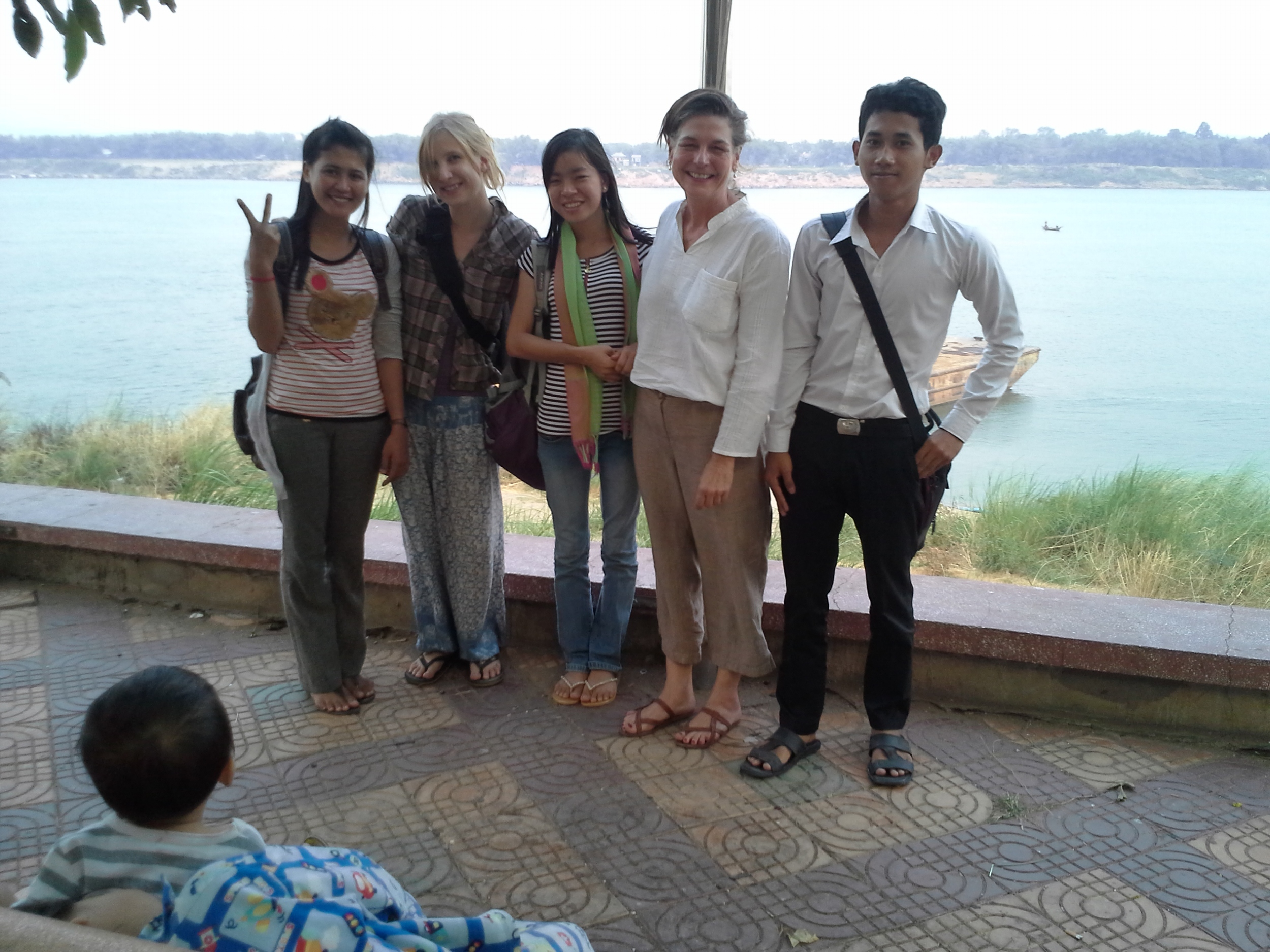 Research Team in Kampong Cham