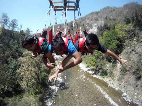 Flying Fox- a thrilling expereince