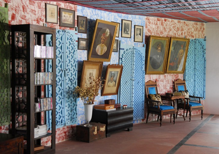 Art Collected from the old Palace Image Credit: Uniqhotels