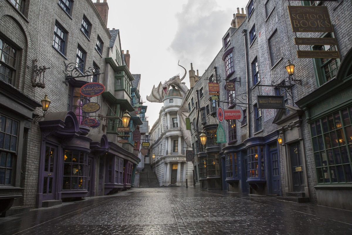 Wizarding world of Harry Potter at Island of Adventures Image Credit: www.universalwdwinfo.com