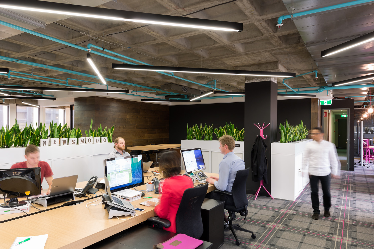 Co Working Space on Queens Road  - Interior Design