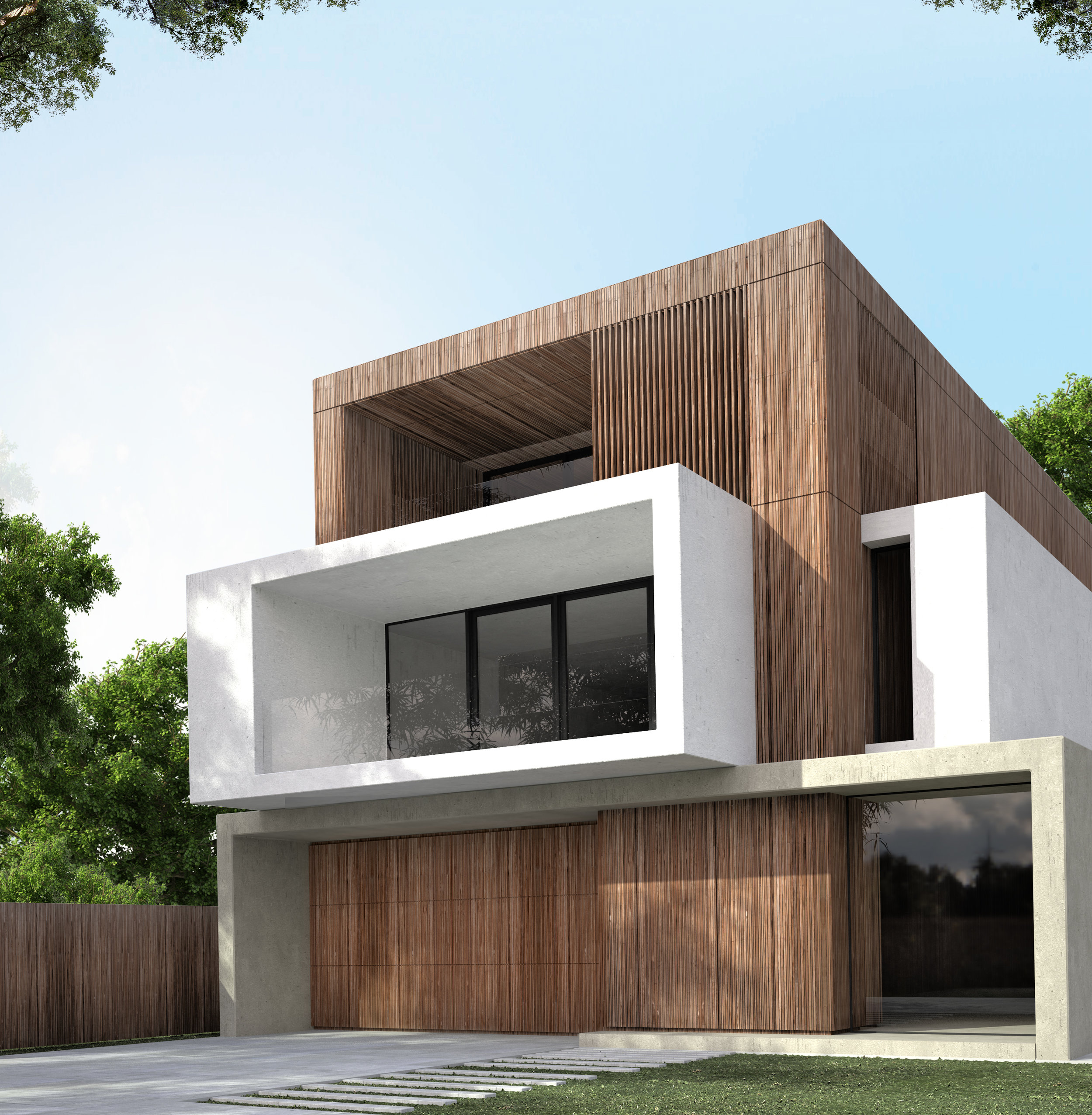 Aspendale Residence - Interior Design & Facade Design (Under Construction)