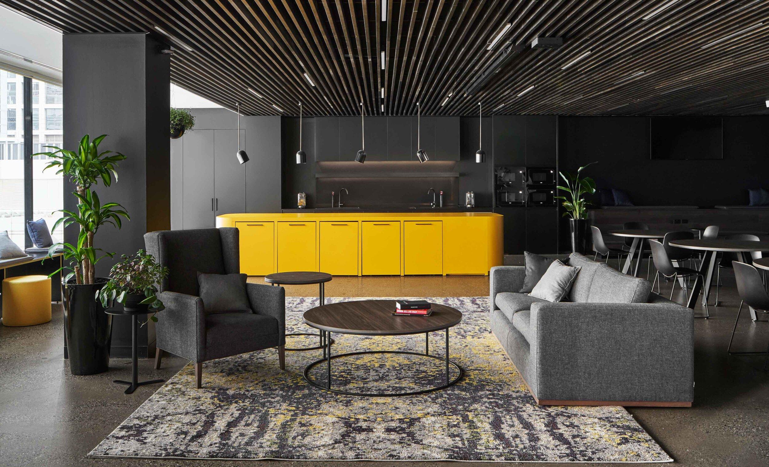 Betfair Office Kitchen and Lounge Interior Design