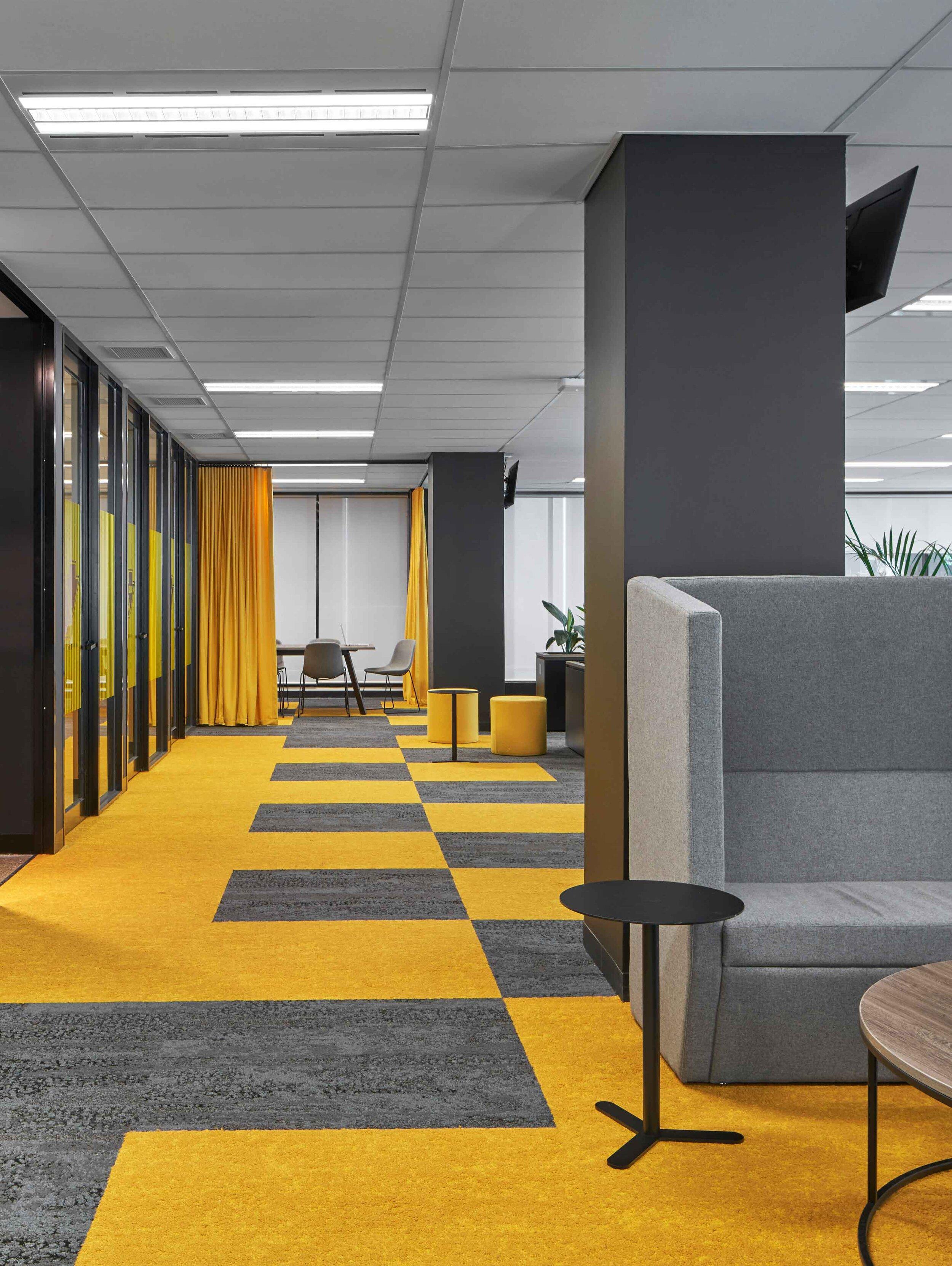 Betfair Office Hallway Interior Design