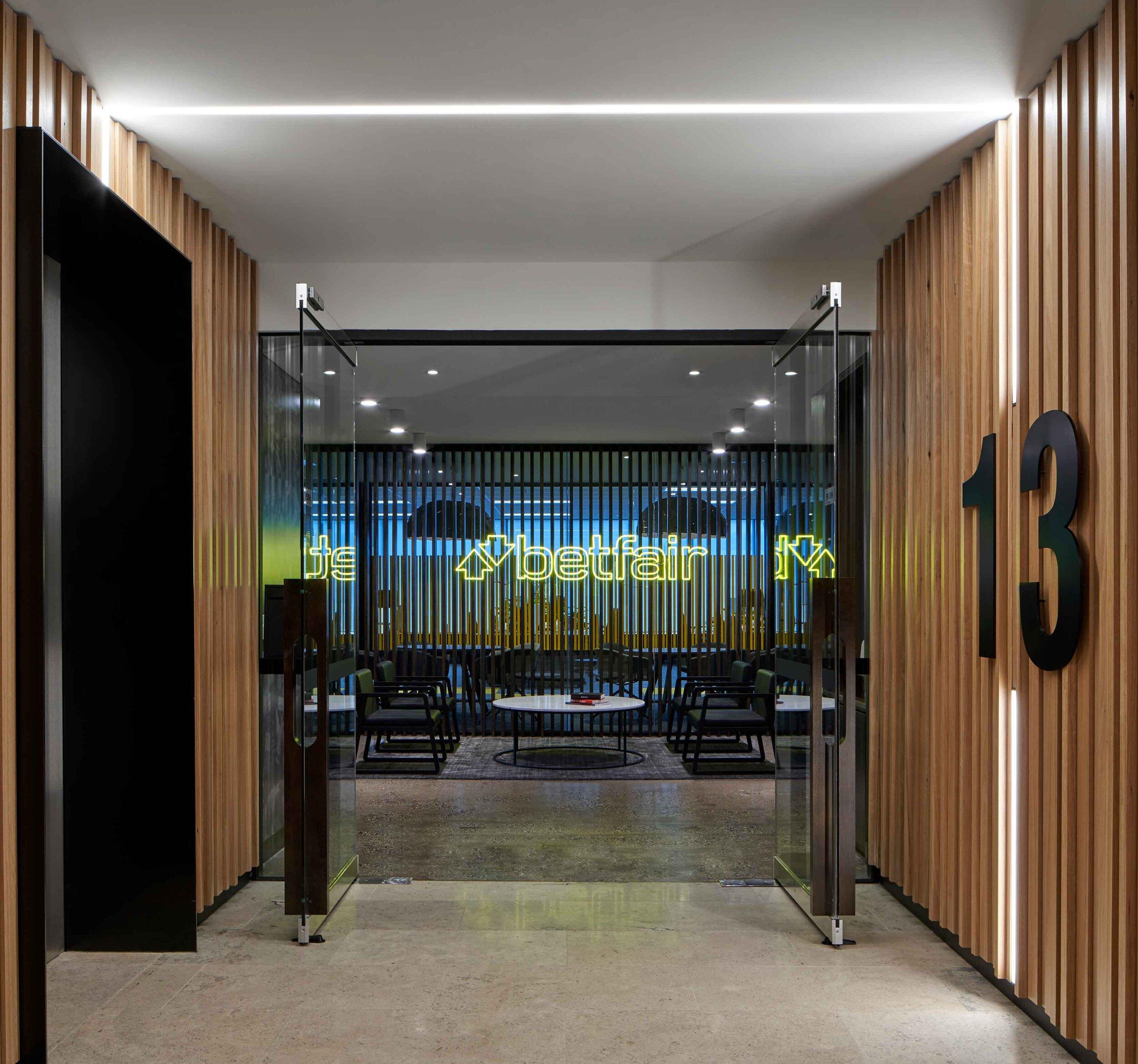 Betfair Office Elevator Area