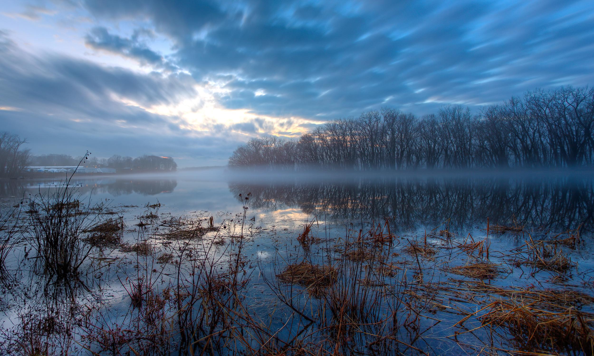CT River Blue Hour