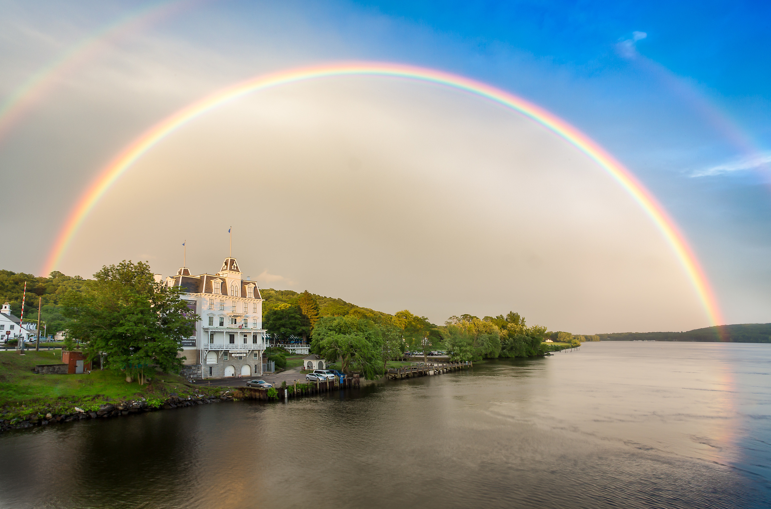 Goodspeed Opera House Double Rainbow