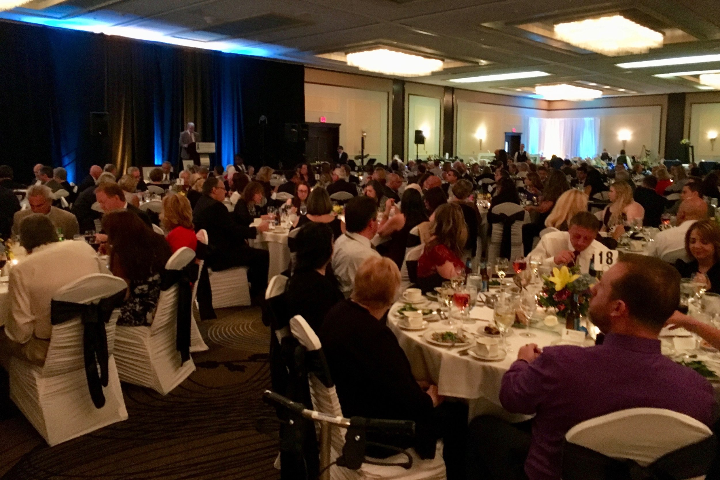 The  Hyatt Regency Buffalo Hotel and Conference Center provided a wonderful setting for great turnout of the 15th Annual Gala.