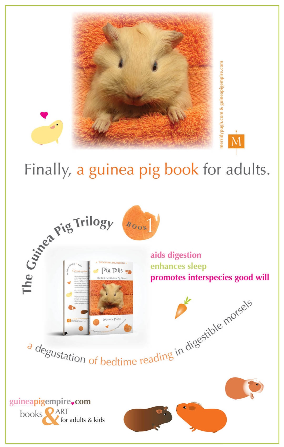 you'll never see a guinea pig the same way again… - Book 2 coming soon!