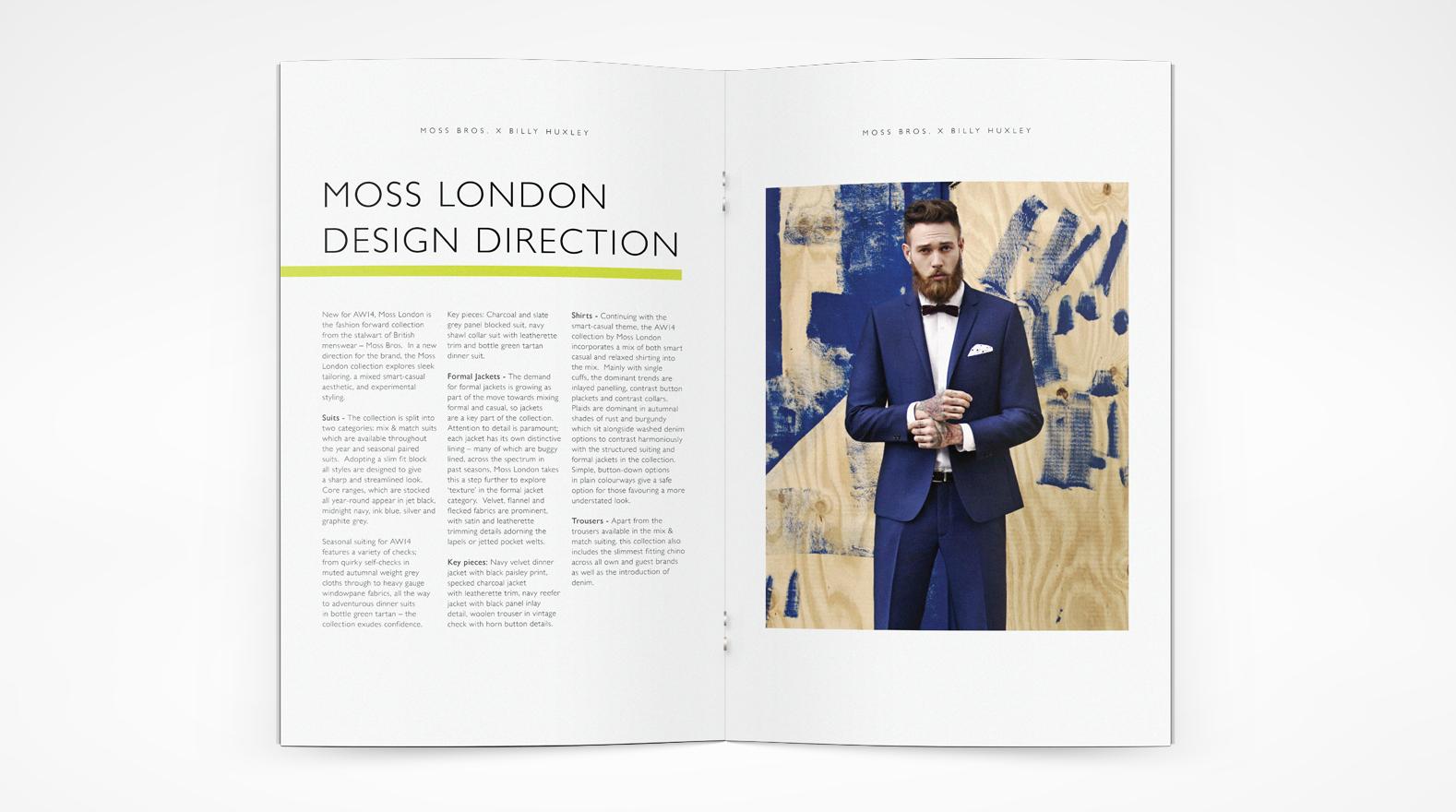 Moss London Look book