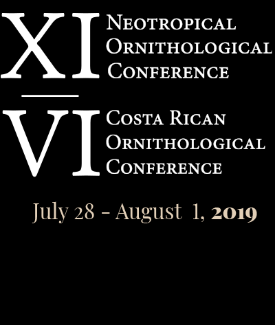 XI Neotropical Ornithological Conference | VI Costa Rican Ornithological Conference